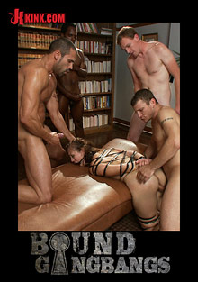 Bound Gangbangs: Nerdy Grad Student Gets Gang Banged cover