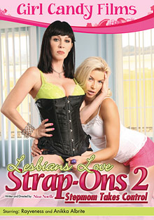 Lesbians Love Strap-ons 2: Stepmom Takes Control cover