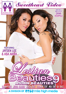 Lesbian Beauties 9: Asian Beauties cover