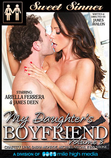 My Daughter's Boyfriend 8 cover