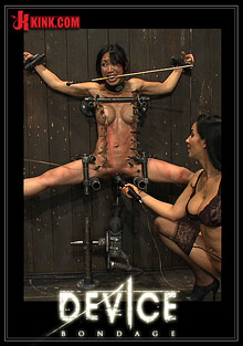 Female Self Pleasuring : Device Bondage: Tiny Tia Takes Tenacious Torment!