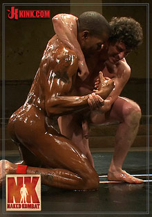 Gay Interracial Sex : Naked Kombat: Scott Alexander Vs Jeremy Tyler!