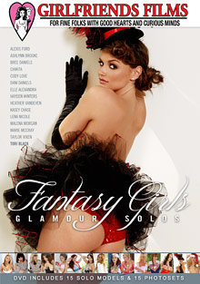 Female Self Pleasuring : Fantasy Girls Glamour Solos!