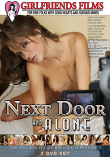 Female Self Pleasuring : Next Door And Alone!
