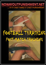 Football Thrashing Post Match Training