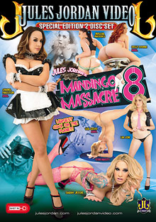Mandingo Massacre 8 cover