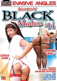 Horny Black Mothers 14 cover