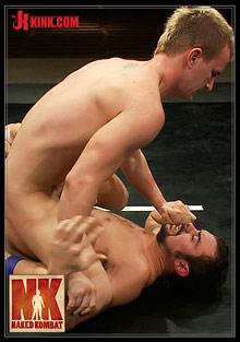 Gay Fetish Sex : Naked Kombat: Cameron Adams VS Scout!
