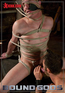 Gay Fetish Sex : Bound Gods: Tristan Eric!