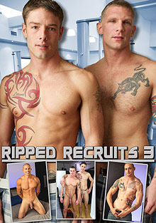Gay Military Soldiers : Ripped Recruits 3!