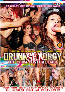 Party Hardcore : Drunk sex group porn: The CFNM Costume Ball!