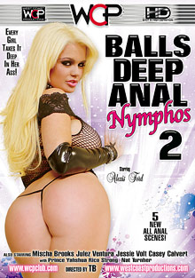 Balls Deep Anal Nymphos 2 cover