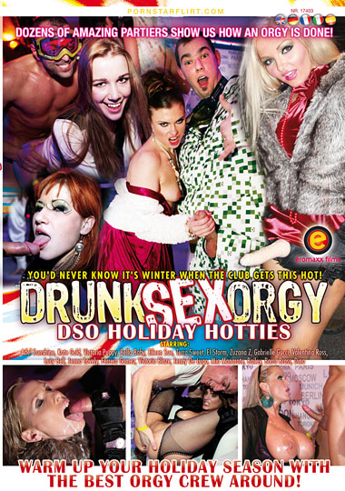 Drunk Sex Orgy: DSO Holiday Hotties cover