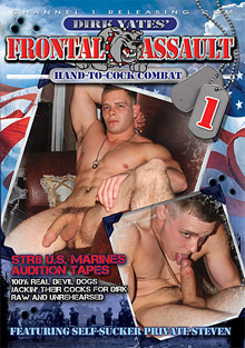 Gay Military Soldiers : Frontal Assault!