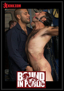 Gay Fetish Sex : Bound In Public: Car whore!