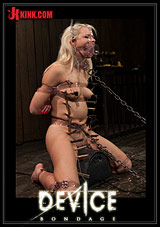 Device Bondage: Hot Blonde Anikka Albright's First Bondage Shoot Ever