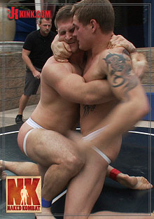 Gay Fetish Sex : Naked Kombat: Trent Diesel Vs Paul Wagner!