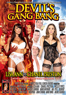 Interracial Porn : The Devils Gang Bang!