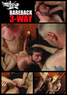 Gay Mature Men : bareback 3-Way!