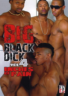 Gay Ebony Studs : big size Black meat stick 4!