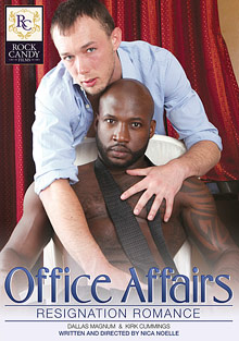 Gay Interracial Sex : Office Affairs: Resignation Romance!