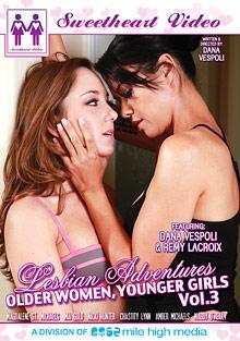 Lesbian Adventures: Older Women Younger Girls 3 cover