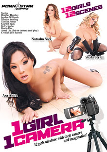 Female Self Pleasuring : 1 women 1 videocamera!