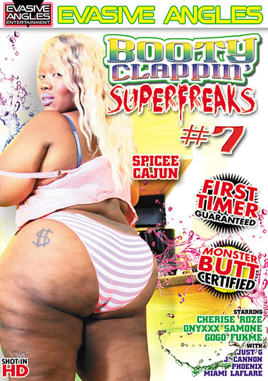 Booty Clappin' Superfreaks 7 cover