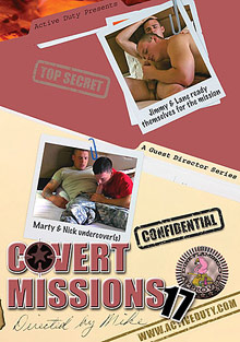 Gay Military Soldiers : Covert Missions 17!