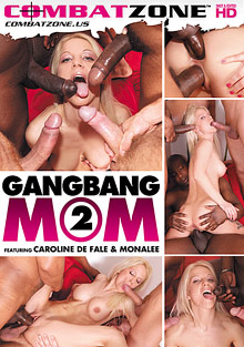 Creampie Surprise : group sex Mom 2!