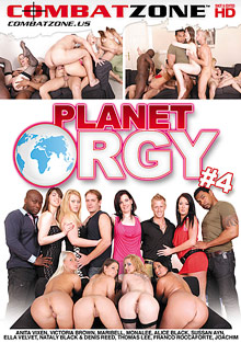 Anal Fucking : Planet group-sex 4!