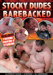 Gay Amateur Sex : Stocky guyz Barebacked!