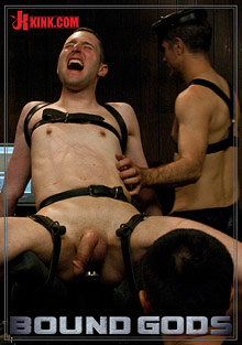 Gay Spanking Boys : Bound Gods: Post orgism Torment!