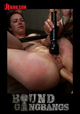 Bound Gangbangs: Brand New Girl Gets Tied Up, Gangbanged, And Dp