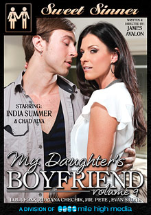 My Daughter's Boyfriend 9 cover