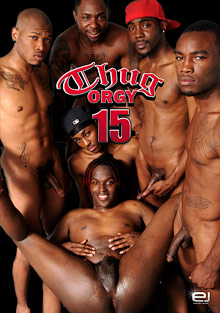 Gay Black Thugs : Thug groupsex 15!