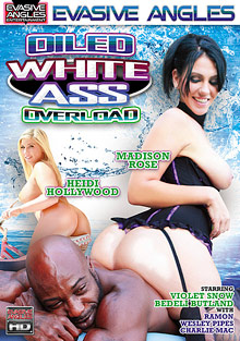 Interracial Porn : Oiled White back Overload!