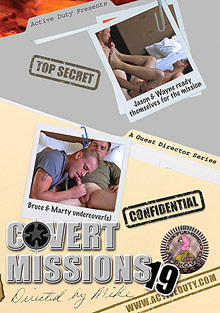 Gay Military Soldiers : Covert Missions 19!