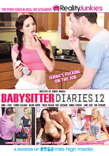 Babysitter Diaries 12 cover