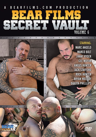 Bear Films Secret Vault 6 cover