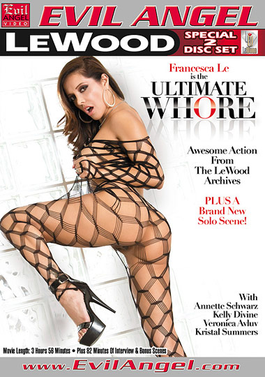 Francesca Le Is The Ultimate Whore cover