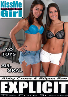 KissMe Girl Explicit: The Core Scenes: Abby Cross And Rilynn Rae cover