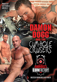 Gay Anal Porn : Damon Dogg And The Cum-Hole Cruisers!