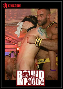 Gay Orgy GroupSex : Bound In Public: HustlaBall Berlin 2012!