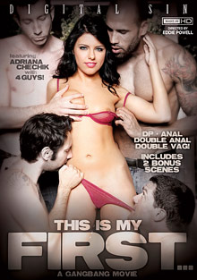 This Is My First... A Gangbang Movie cover