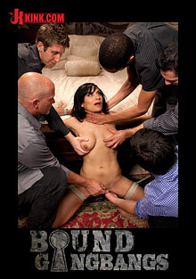 Bound Gangbangs: Hot Fiance Spies On Her Grooms Bachelor Party And Gets Punished cover