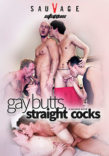 Gay Butts, Straight Cocks cover
