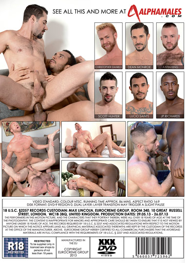 Horny Hunks Cover 2