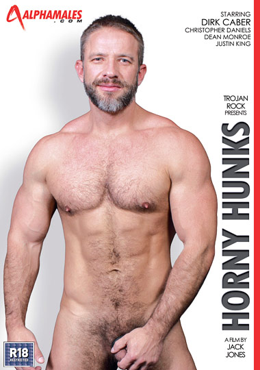 Horny Hunks Cover Front