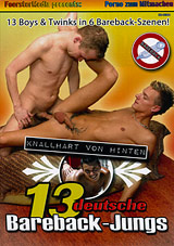 13 Deutsche Bareback-Jungs Xvideo gay